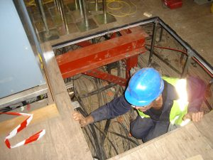 1. Close inspection and installation of additional support