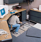 computer floor